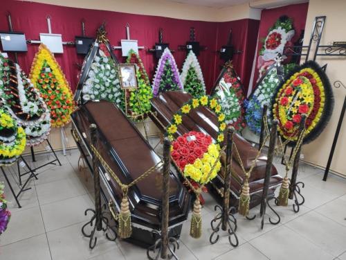Вся ритуальная атрибутика в похоронном бюро АЛЕКС