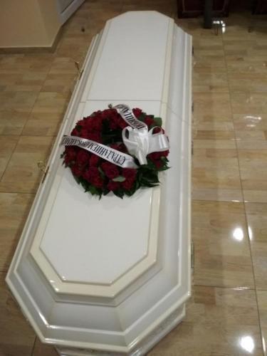 Купить восьмигранный гроб недорого в Одессе
