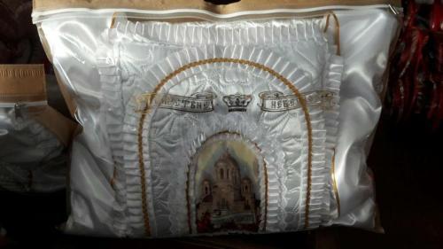 Продажа ритуального текстиля для захоронения