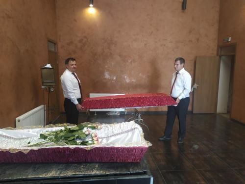 Оформление места прощания с умершим недорого