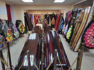 Венки и гробы по низкой цене в Одессе