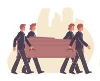 процессия захоронения, ритуальное агентство, похоронное бюро, Одесса, Одесская область. Алекс Ритуал, храм для отпевания